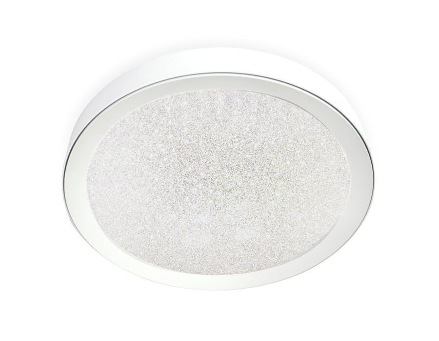 Светильник Ambrella light FS1212 WH/WH 64W+23W D500 Orbital Crystal Sand
