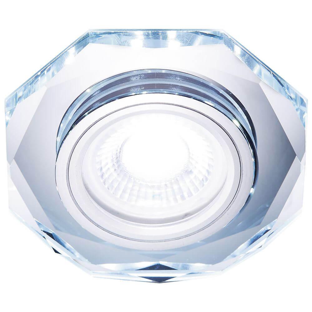 Встраиваемый светодиодный светильник Ambrella light Led S213 CL cтойка для грифов marbo на 10 мест mp s213