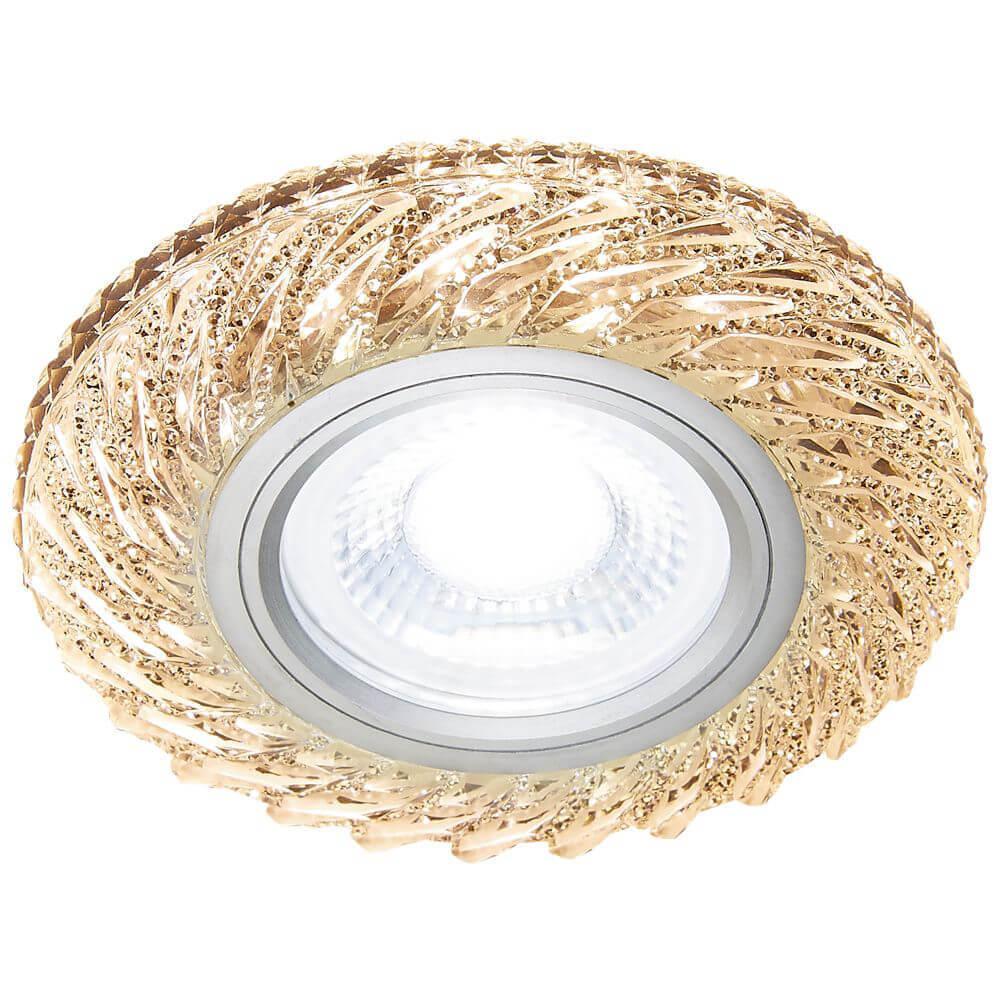 Встраиваемый светодиодный светильник Ambrella light Led S295 CH/W th 7006a foldable 16x magnifier w led light