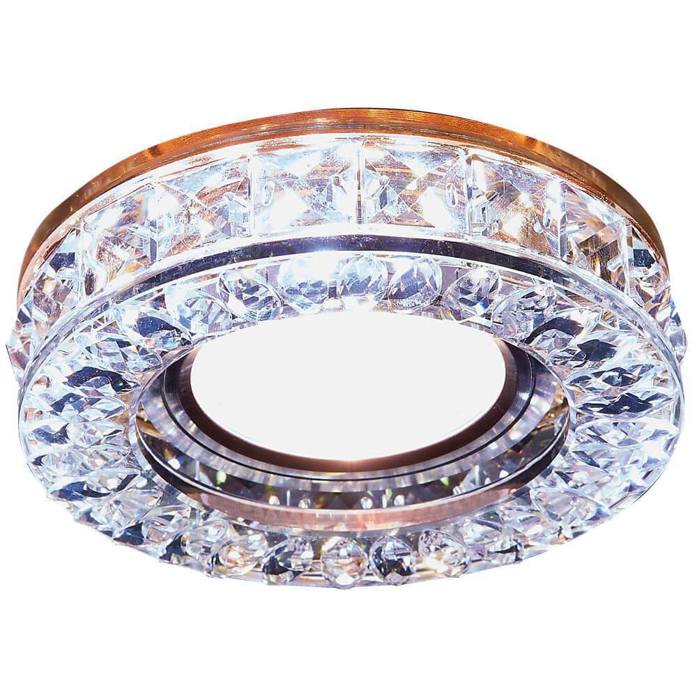 цены Встраиваемый светодиодный светильник Ambrella light Led S241 BR