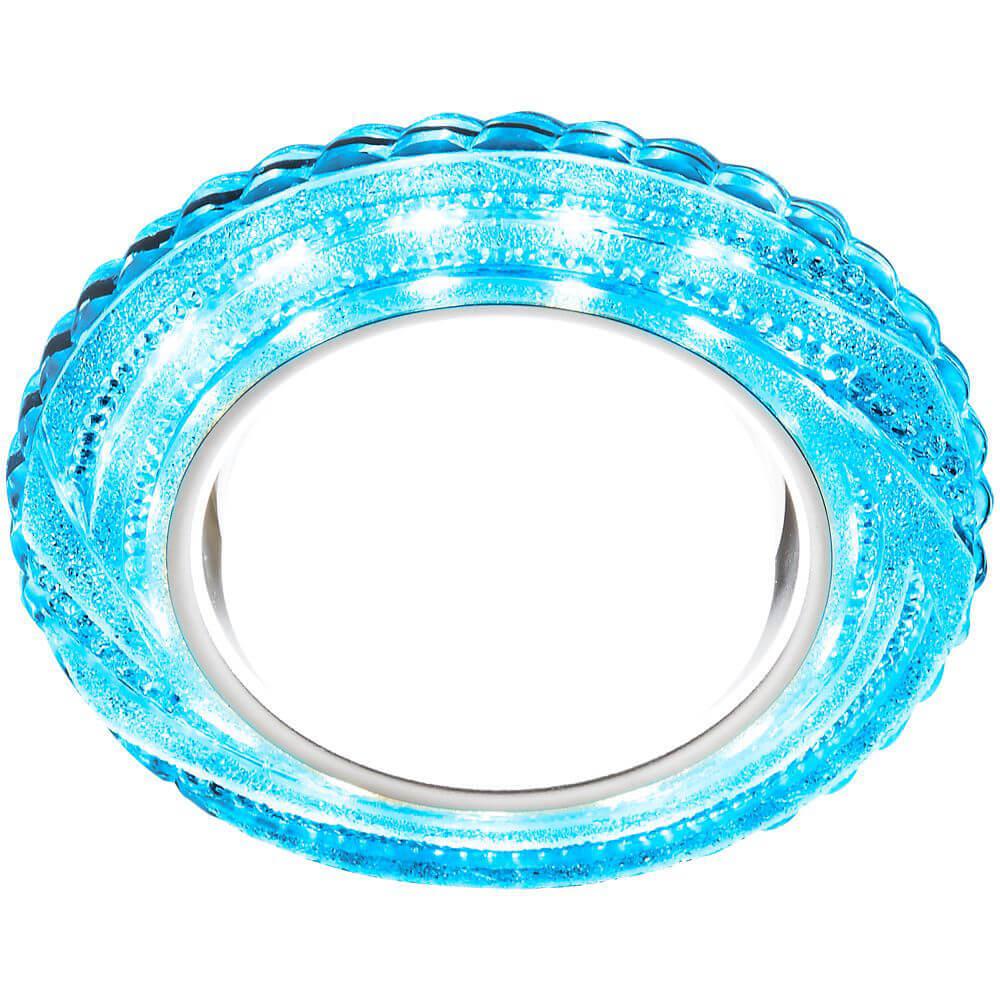 цена на Встраиваемый светодиодный светильник Ambrella light GX53 LED G299 BL/WH