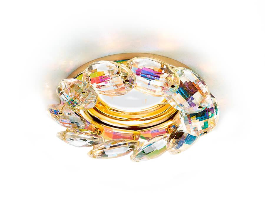 Светильник Ambrella light K306 PR/G Crystal