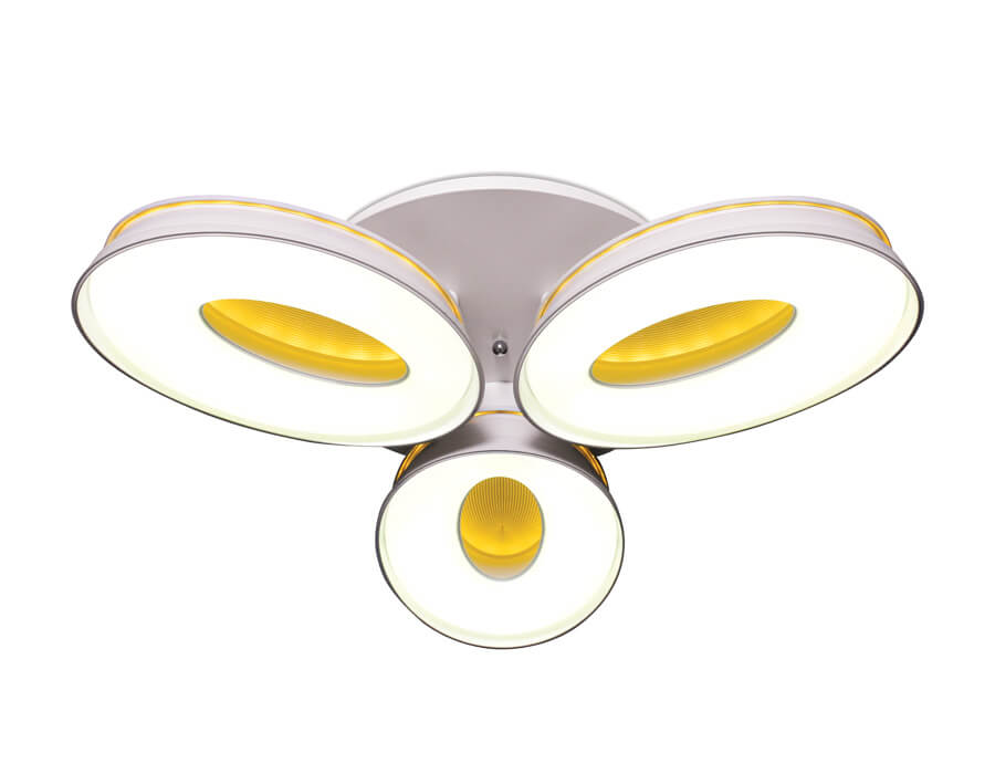 Люстра Ambrella light FG1020/3 WH 72W+36W D780 Orbital Granule