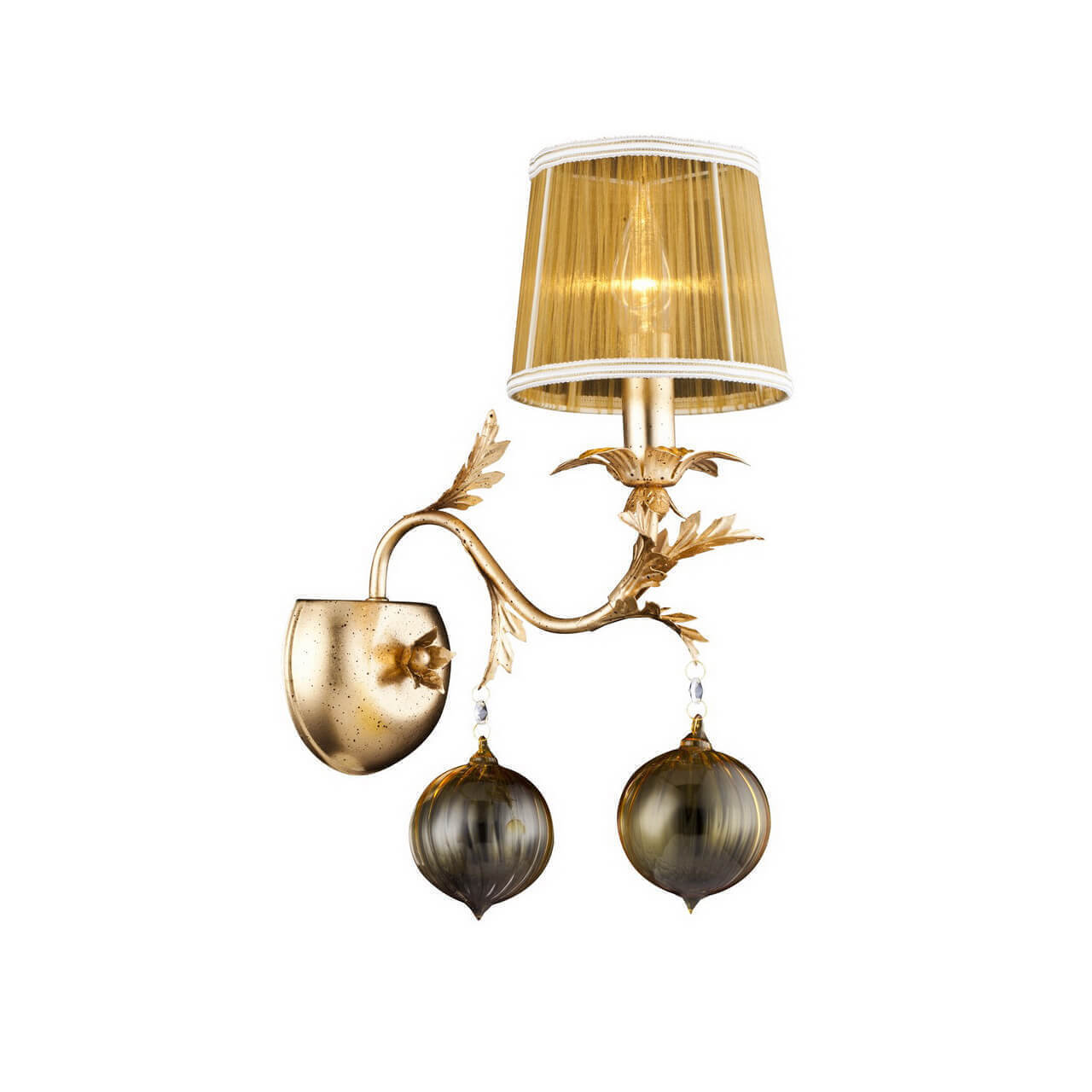 Бра Arte Lamp A1199AP-1GO Monarch arte lamp millo a9549ap 1go