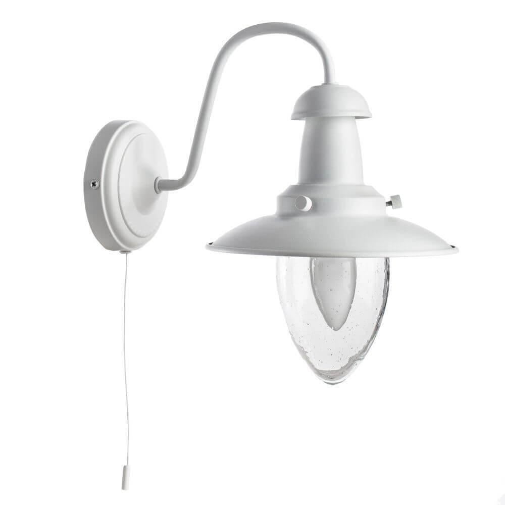 цена на Бра Arte Lamp A5518AP-1WH Fisherman White