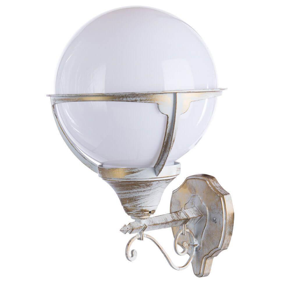 Уличный настенный светильник Arte Lamp Monaco A1491AL-1WG цена 2017