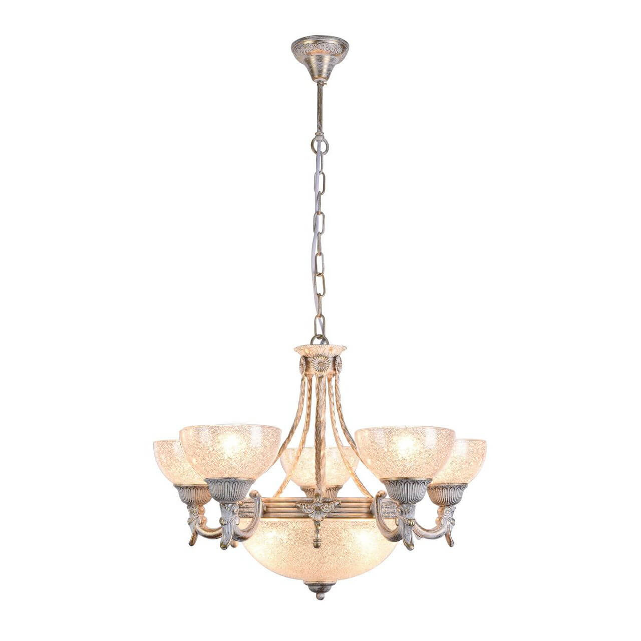 Подвесная люстра Arte Lamp Fedelta A5861LM-3-5WG подвесная люстра arte lamp fedelta a5861lm 3 5wg