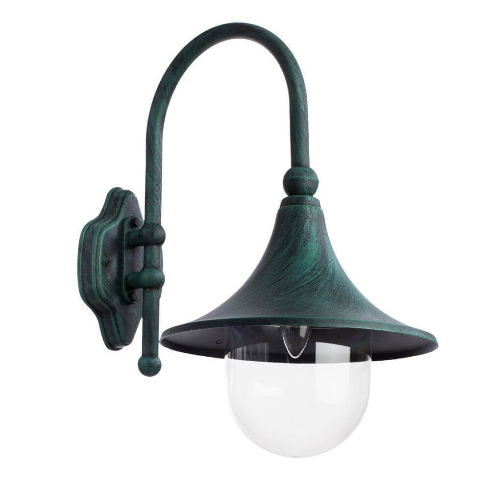 Уличный настенный светильник Arte Lamp Malaga A1082AL-1BG цена 2017