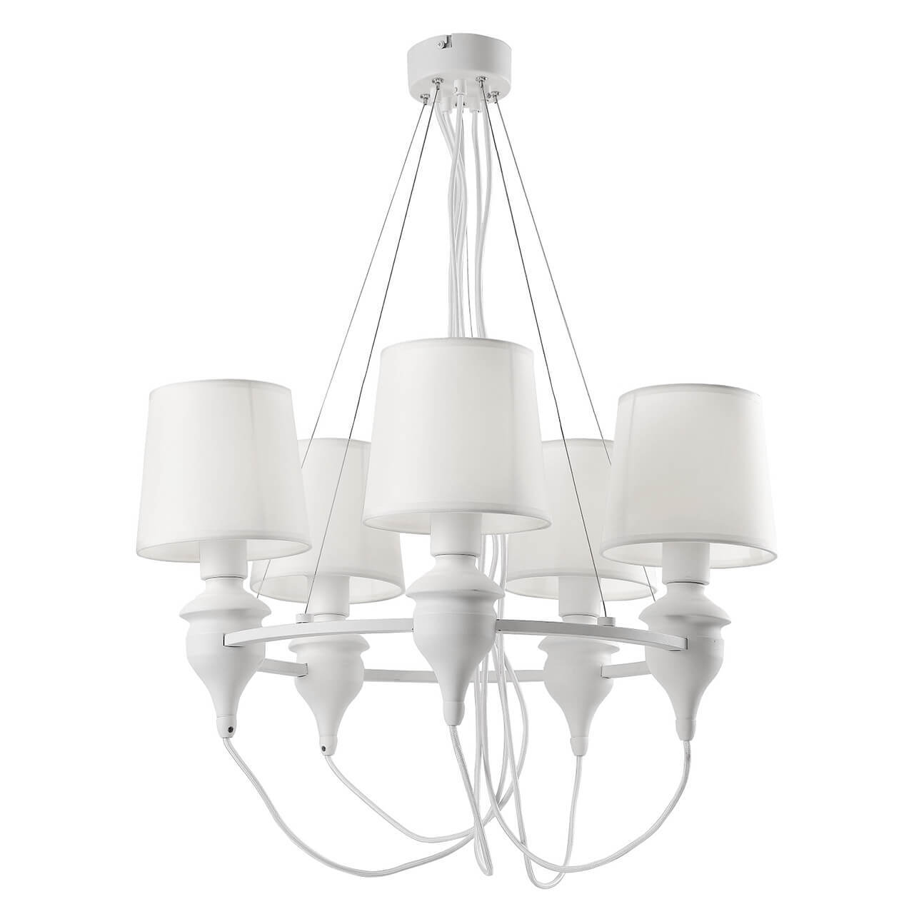 Люстра Arte Lamp A3326LM-5WH Sergio White