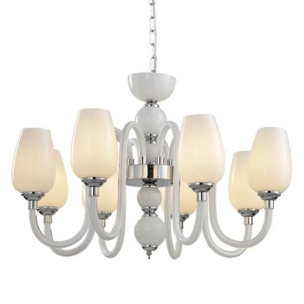 Люстра Arte Lamp A1404LM-8WH 96