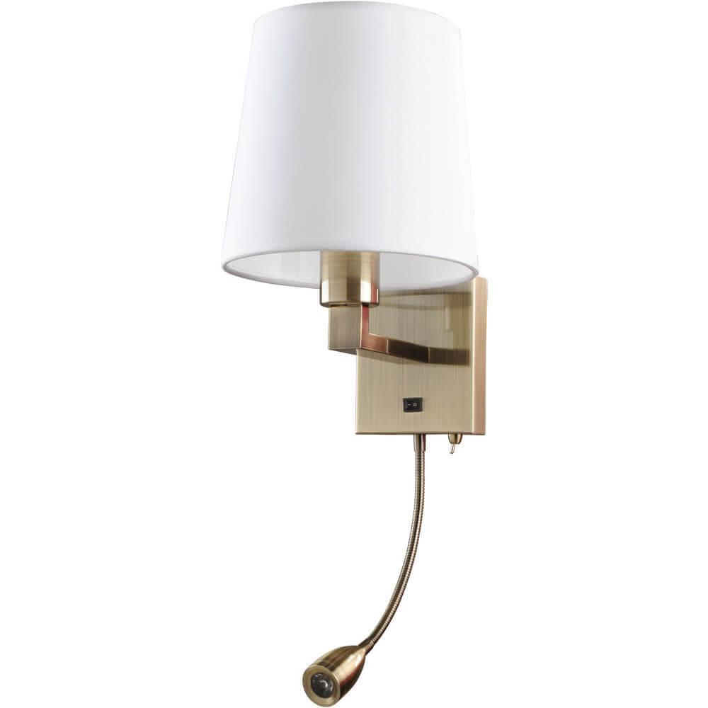 Бра Arte Lamp A9246AP-2AB Hall