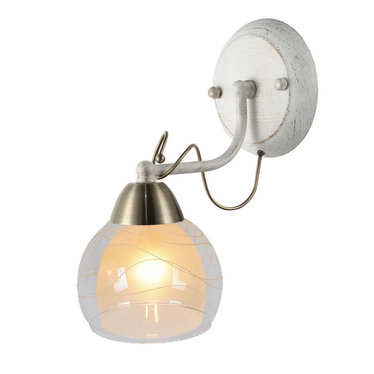 Бра Arte Lamp A1633AP-1WG Intreccio
