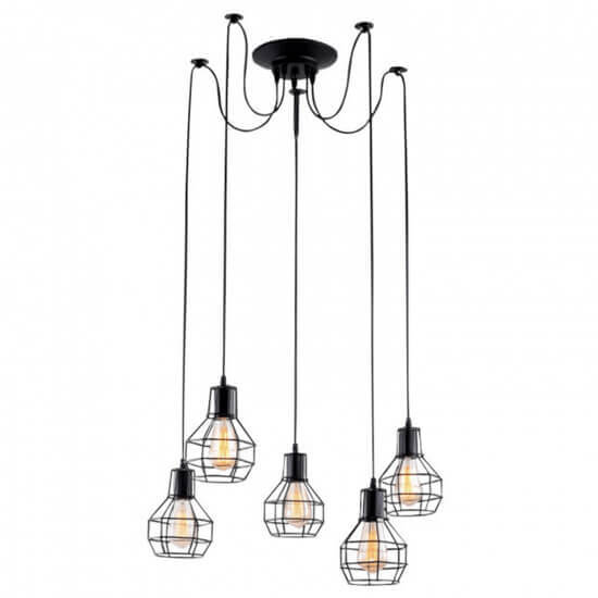 Люстра Arte Lamp A1109SP-5BK 1109 накладная люстра a7144pl 5bk arte lamp