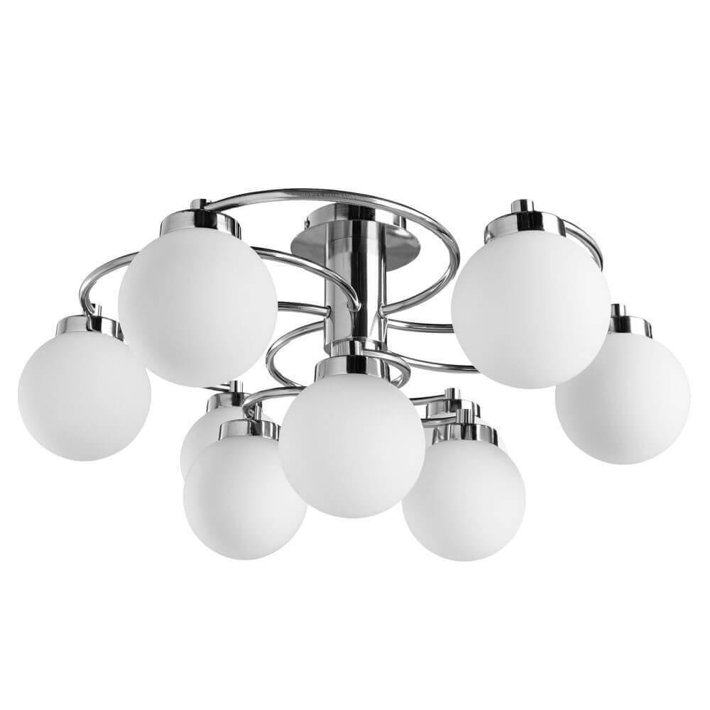Люстра Arte Lamp A8170PL-9SS Cloud потолочная люстра id lamp fort wayne 830 8pf whitechrome