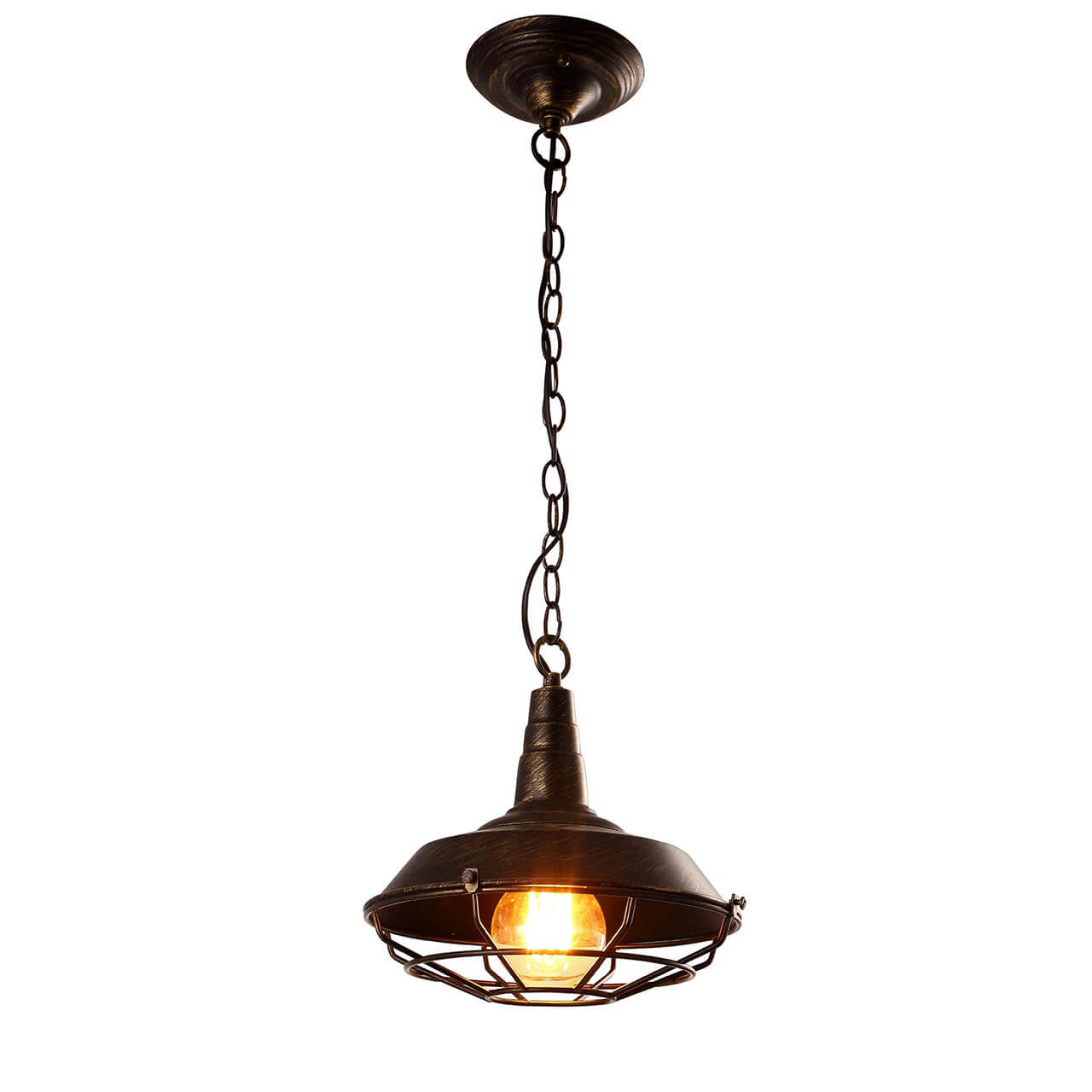 Подвесной светильник Arte Lamp Ferrico A9181SP-1BR бра arte lamp ferrico a9183ap 1br