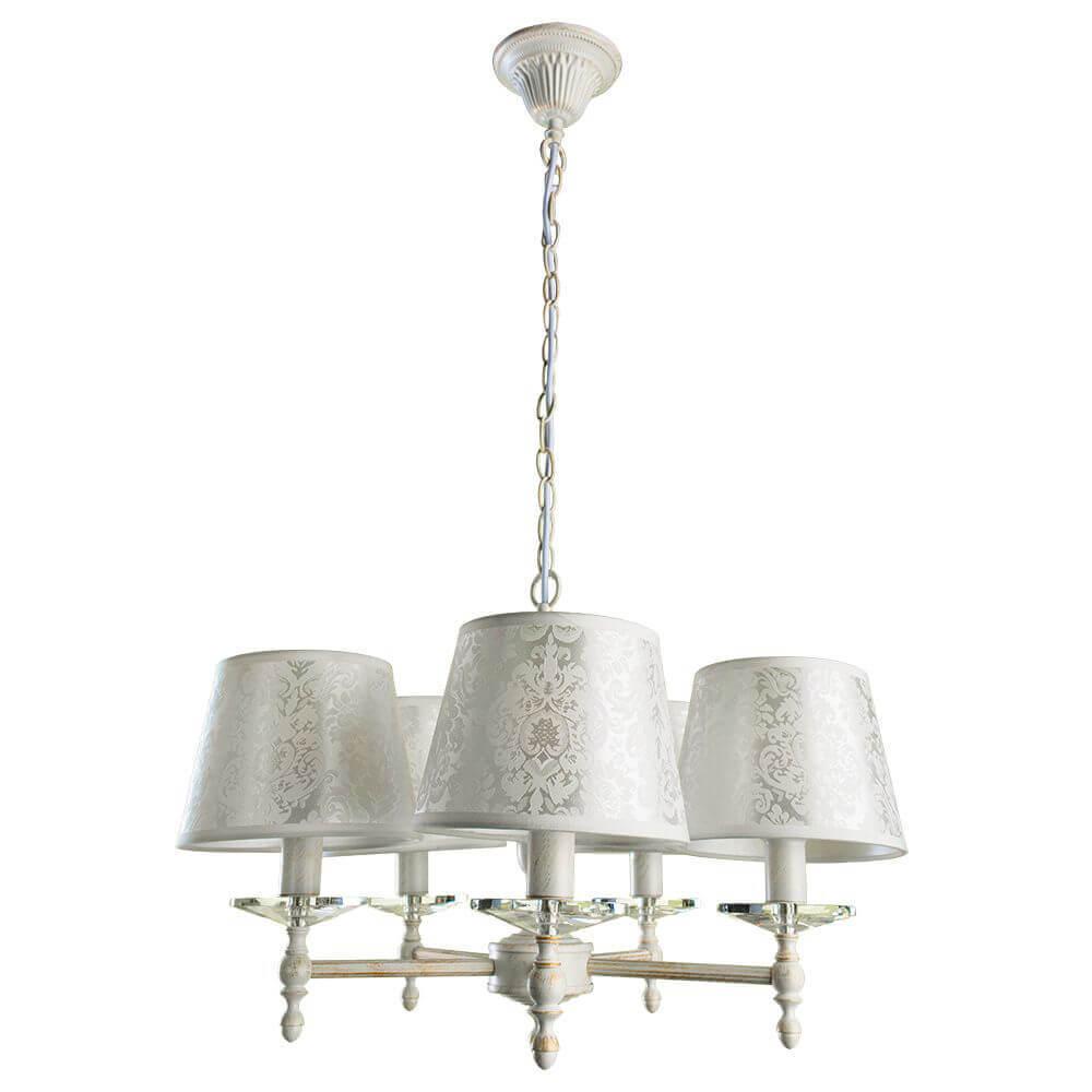 Люстра Arte Lamp A9566LM-5WG Granny люстра подвесная arte lamp подвесная a1511lm 5wg