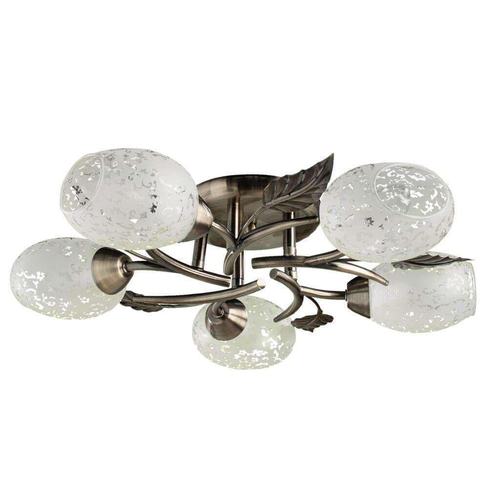 Люстра Arte Lamp A6157PL-5AB Anetta потолочная люстра id lamp fort wayne 830 8pf whitechrome
