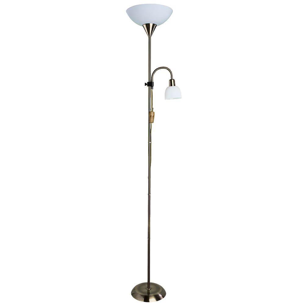 Торшер Arte Lamp A9569PN-2AB Duetto торшер arte lamp a9569pn 2ss