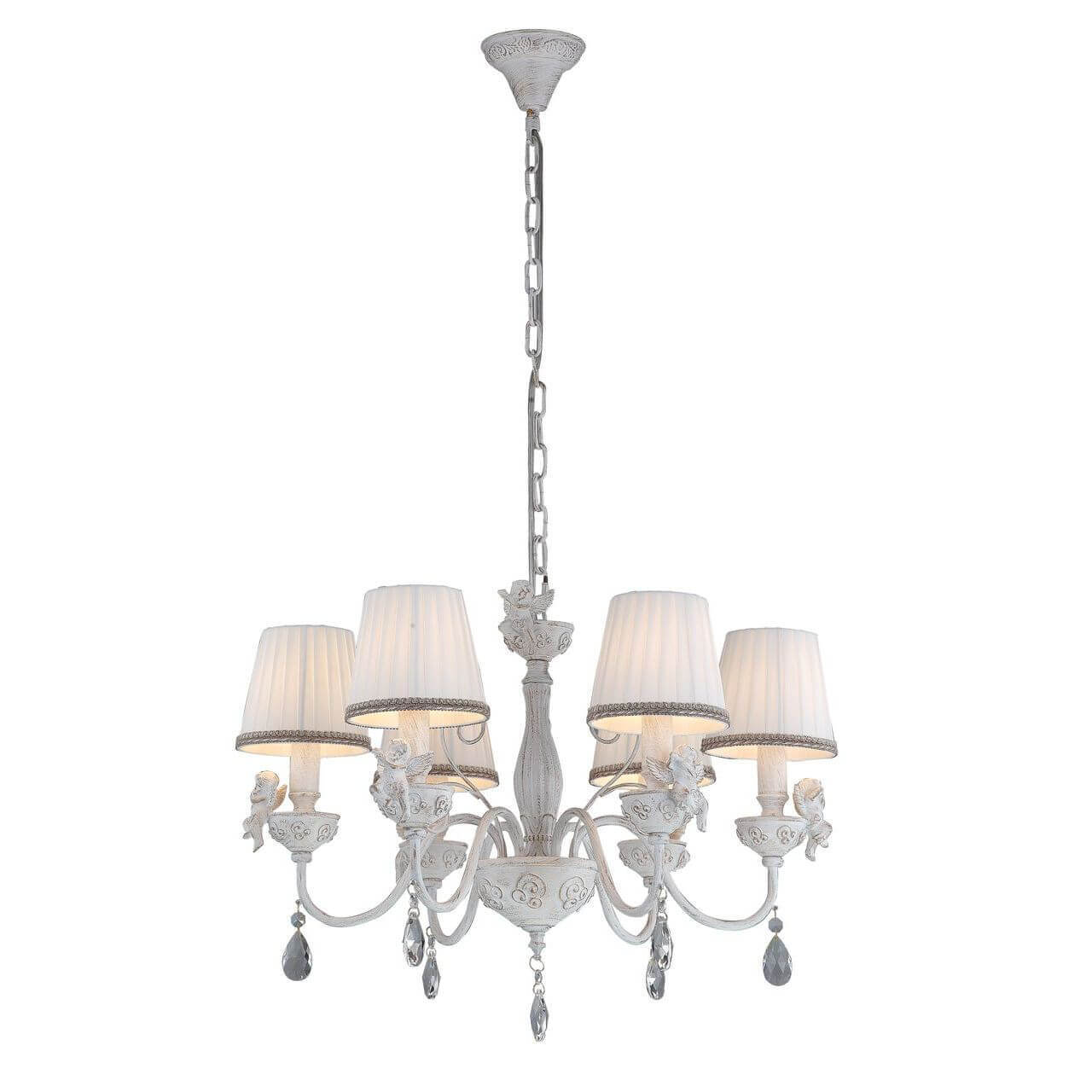 Подвесная люстра Arte Lamp Сherubino A5656LM-6WG все цены