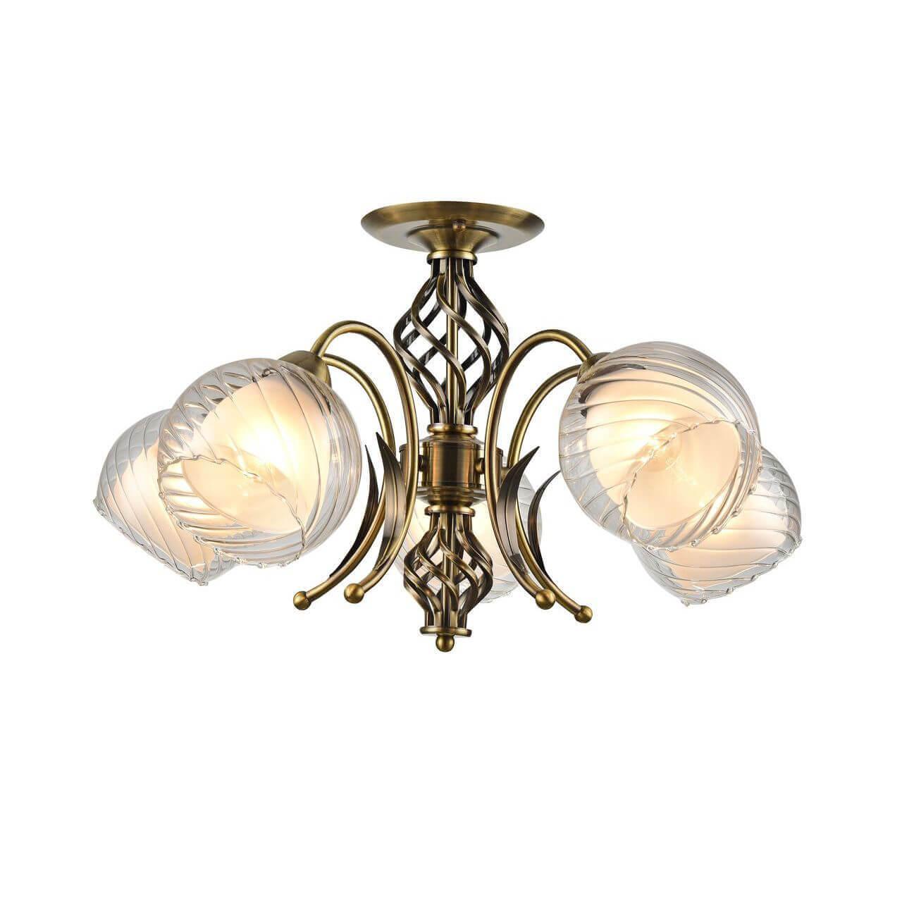 Люстра Arte Lamp A1607PL-5AB Dolcemente потолочная люстра id lamp fort wayne 830 8pf whitechrome