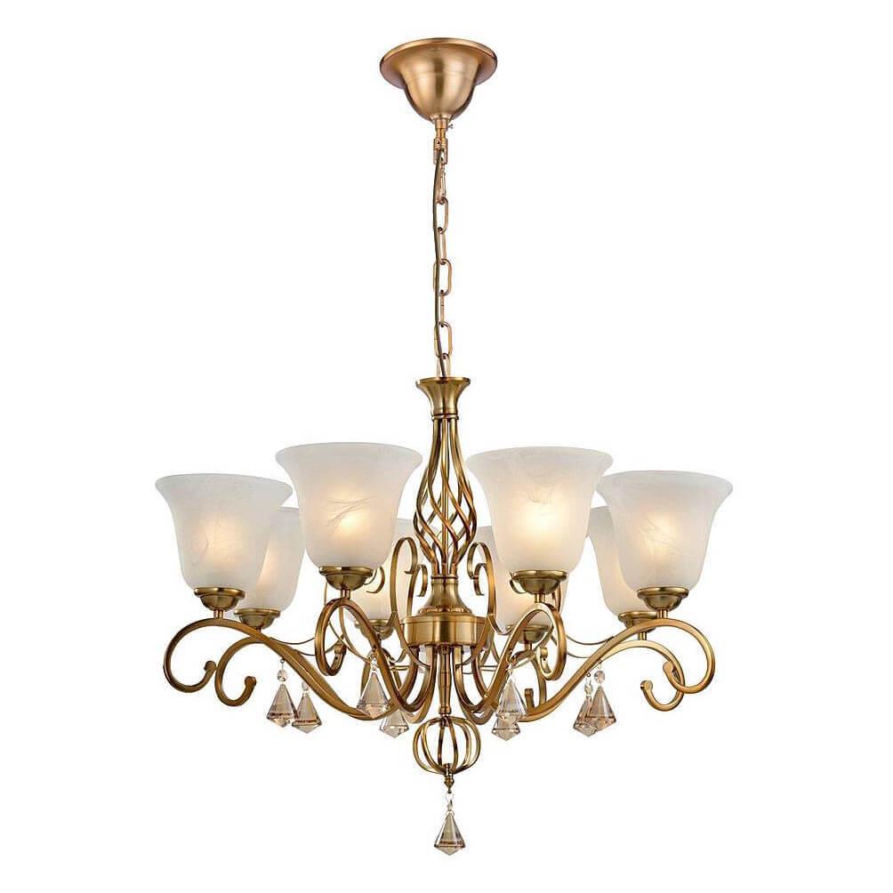 Подвесная люстра Arte Lamp Cono A8391LM-8PB цена 2017