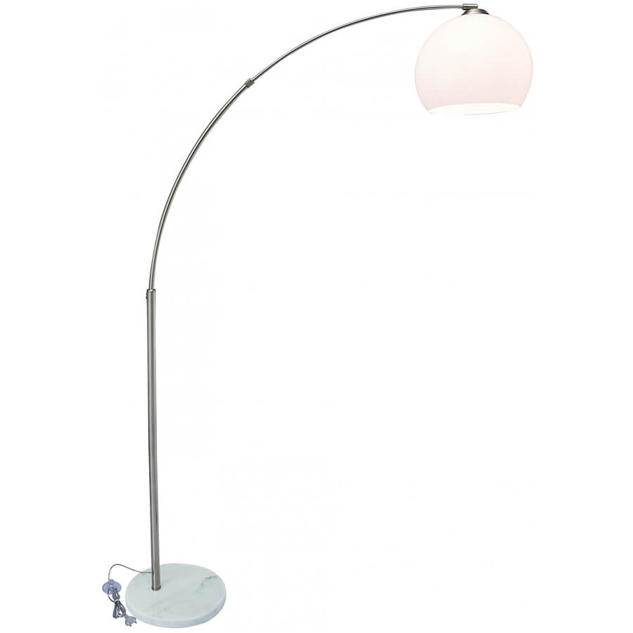 Торшер Arte Lamp Goliath A5822PN-1SS arte lamp a5822pn 1ss