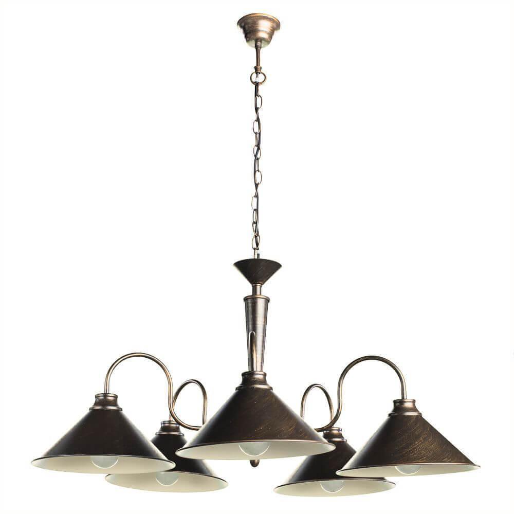 Подвесная люстра Arte Lamp Cone A9330LM-5BR цена