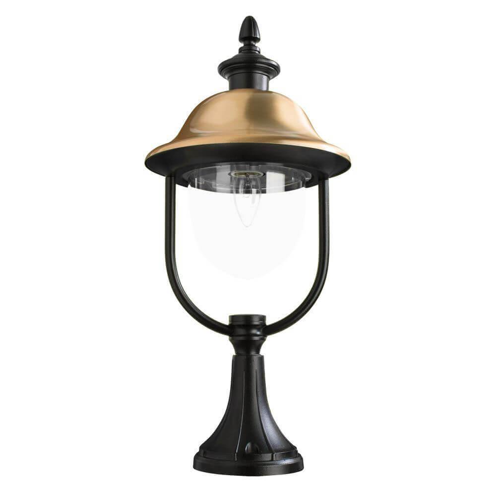 Уличный светильник Arte Lamp Barcelona A1484FN-1BK цена и фото