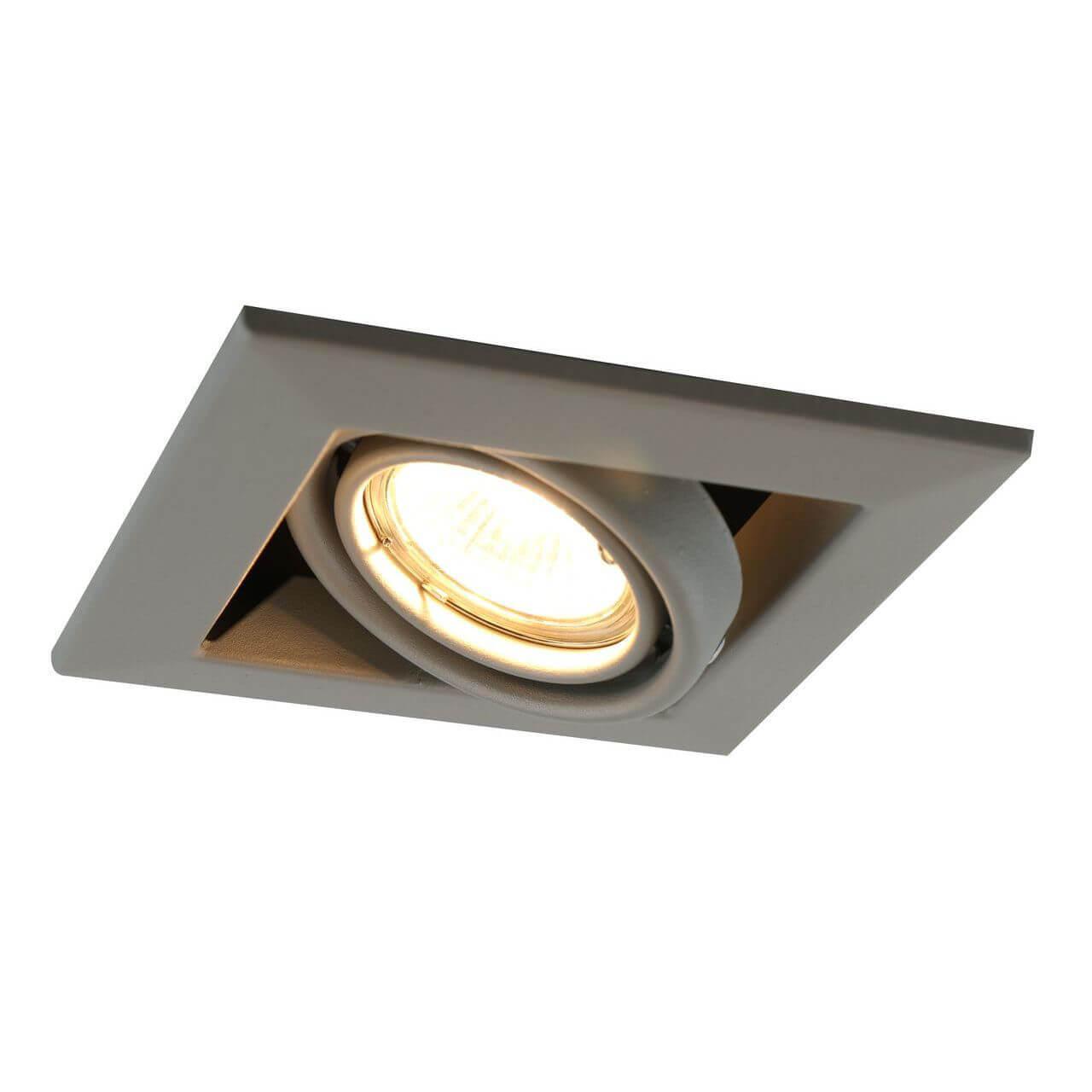 Встраиваемый светильник Arte Lamp Cardani Piccolo A5941PL-1GY arte lamp встраиваемый светильник arte lamp cardani silver a5941pl 4si