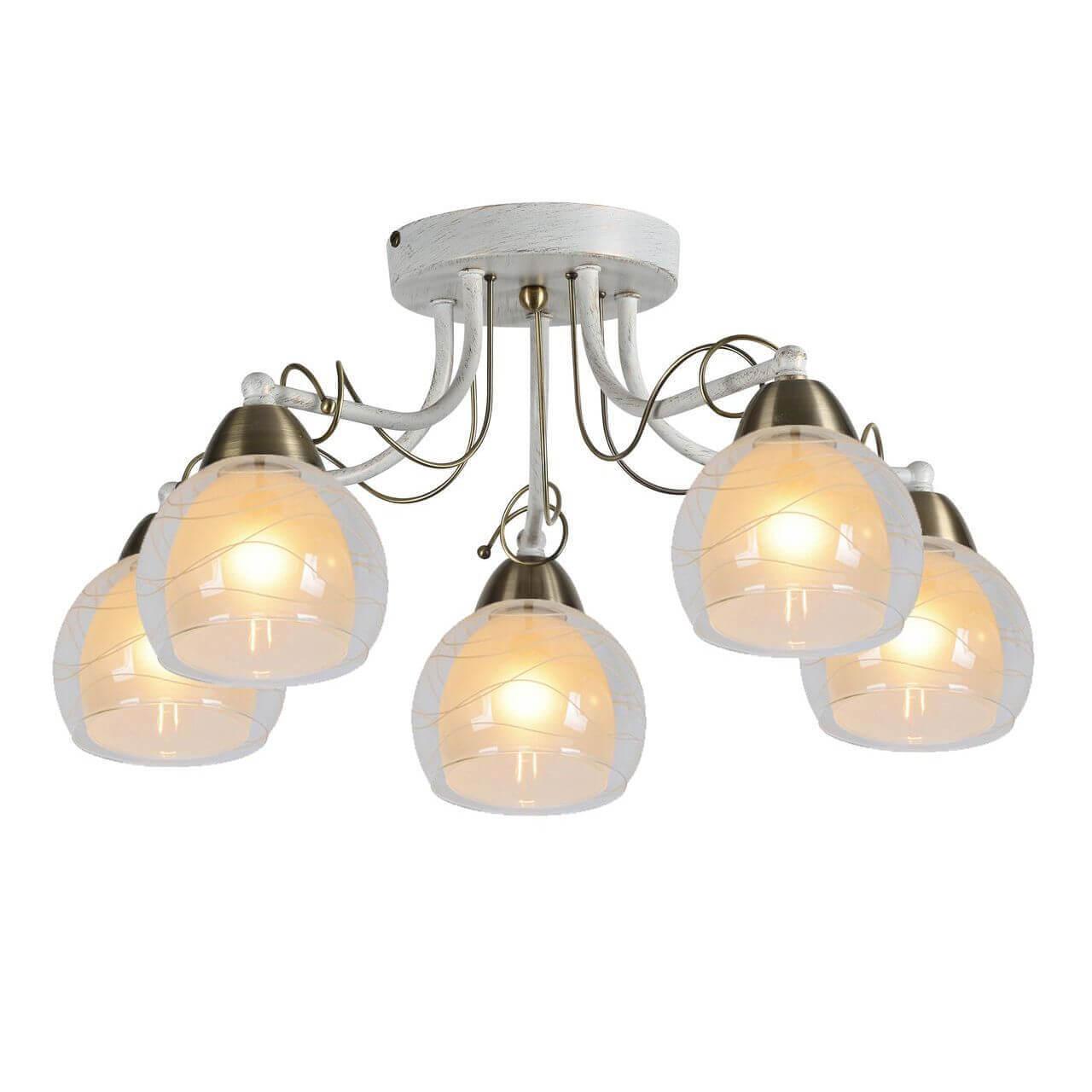 Люстра Arte Lamp A1633PL-5WG Intreccio потолочная люстра id lamp fort wayne 830 8pf whitechrome