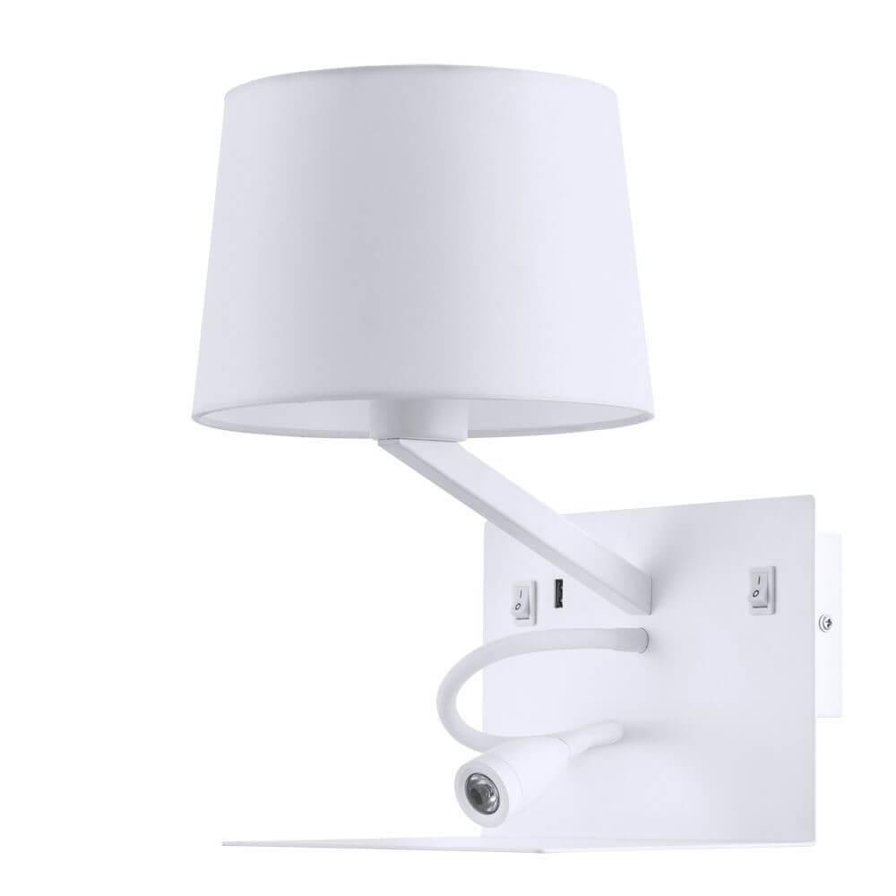 Бра Arte Lamp A1056AP-2WH Ibis фото