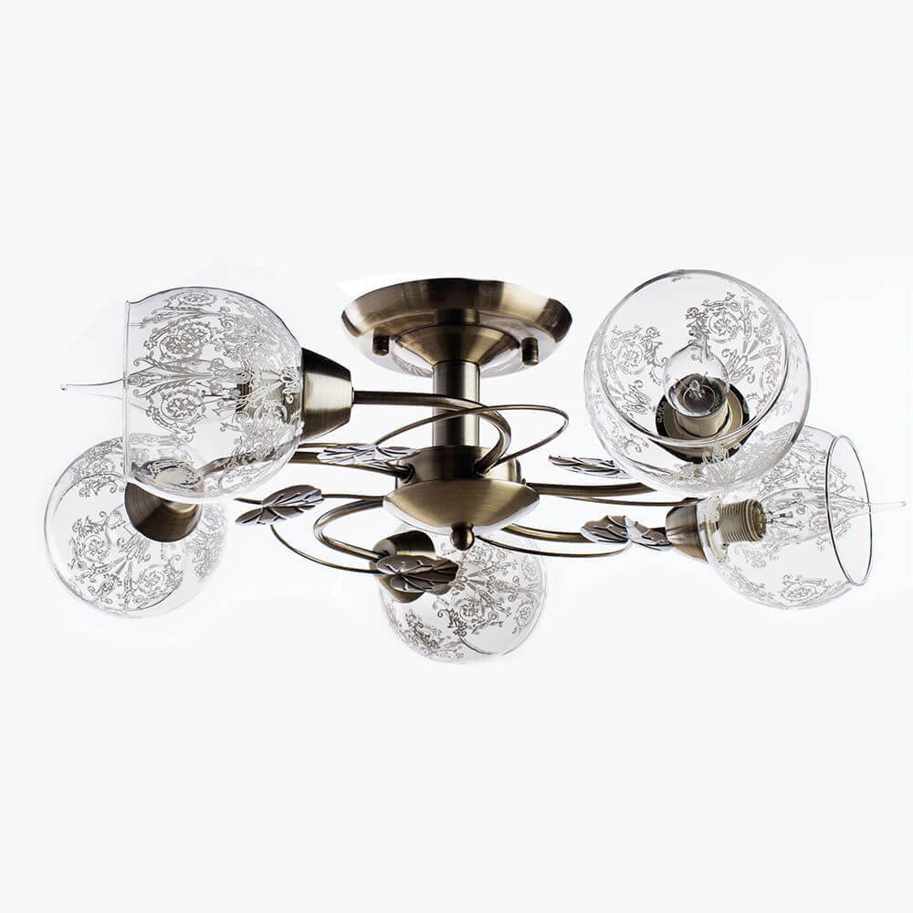 Люстра Arte Lamp A1292PL-5AB 31 люстра потолочная arte lamp corniolo a9534pl 5ab