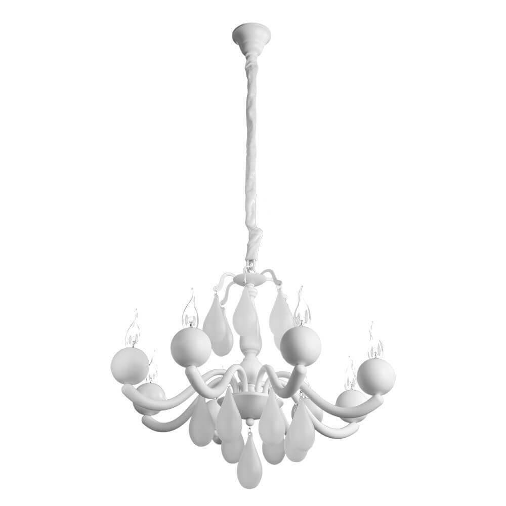 лучшая цена Подвесная люстра Arte Lamp Sigma A3229LM-8WH