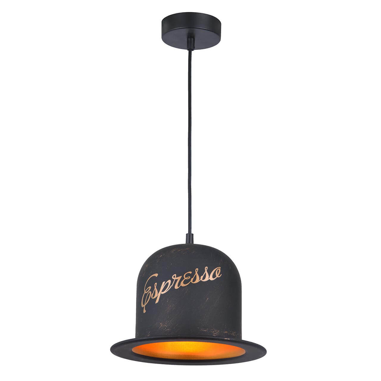 Подвесной светильник Arte Lamp Caffe A5064SP-1BN цены онлайн