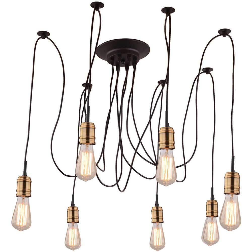 Люстра Arte Lamp A4290SP-7BK Mazzetto подвесная люстра artelamp a4290sp 7bk