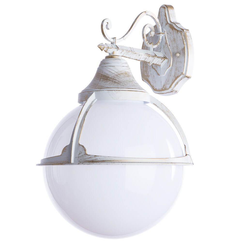 Уличный настенный светильник Arte Lamp Monaco A1492AL-1WG цена 2017