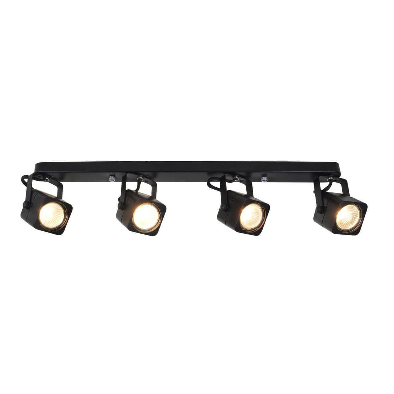 Спот Arte Lamp A1314PL-4BK Lente Black недорого