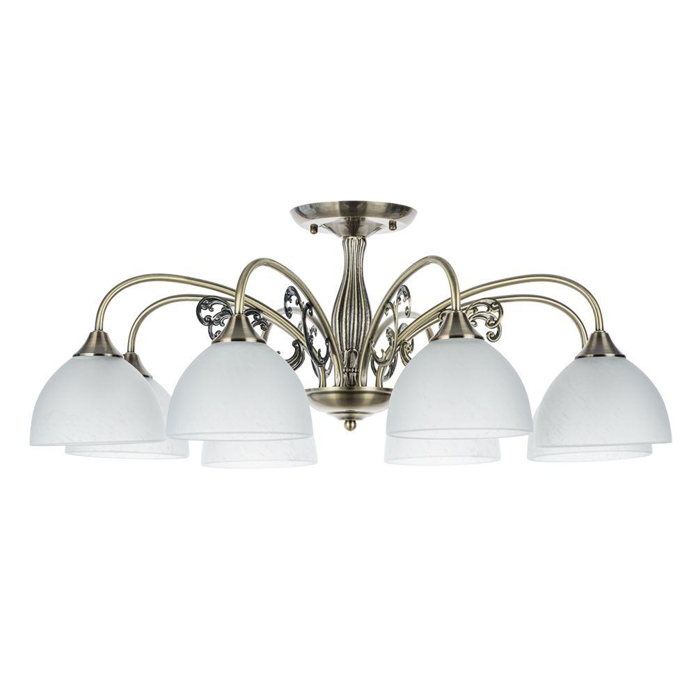Фото - Люстра Arte Lamp A3037PL-8AB Spica люстра arte lamp enigma a3133pl 8ab 320 вт
