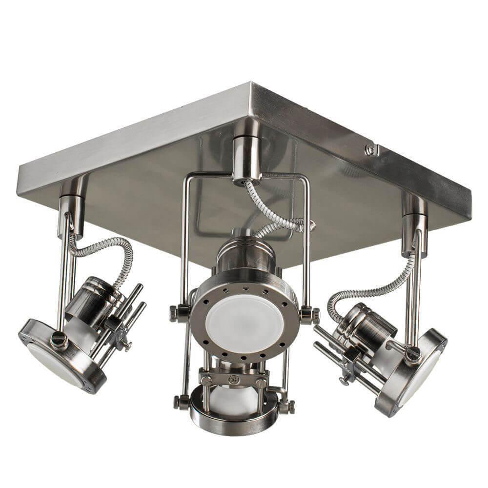цена на Спот Arte Lamp A4300PL-4SS Costruttore Silver