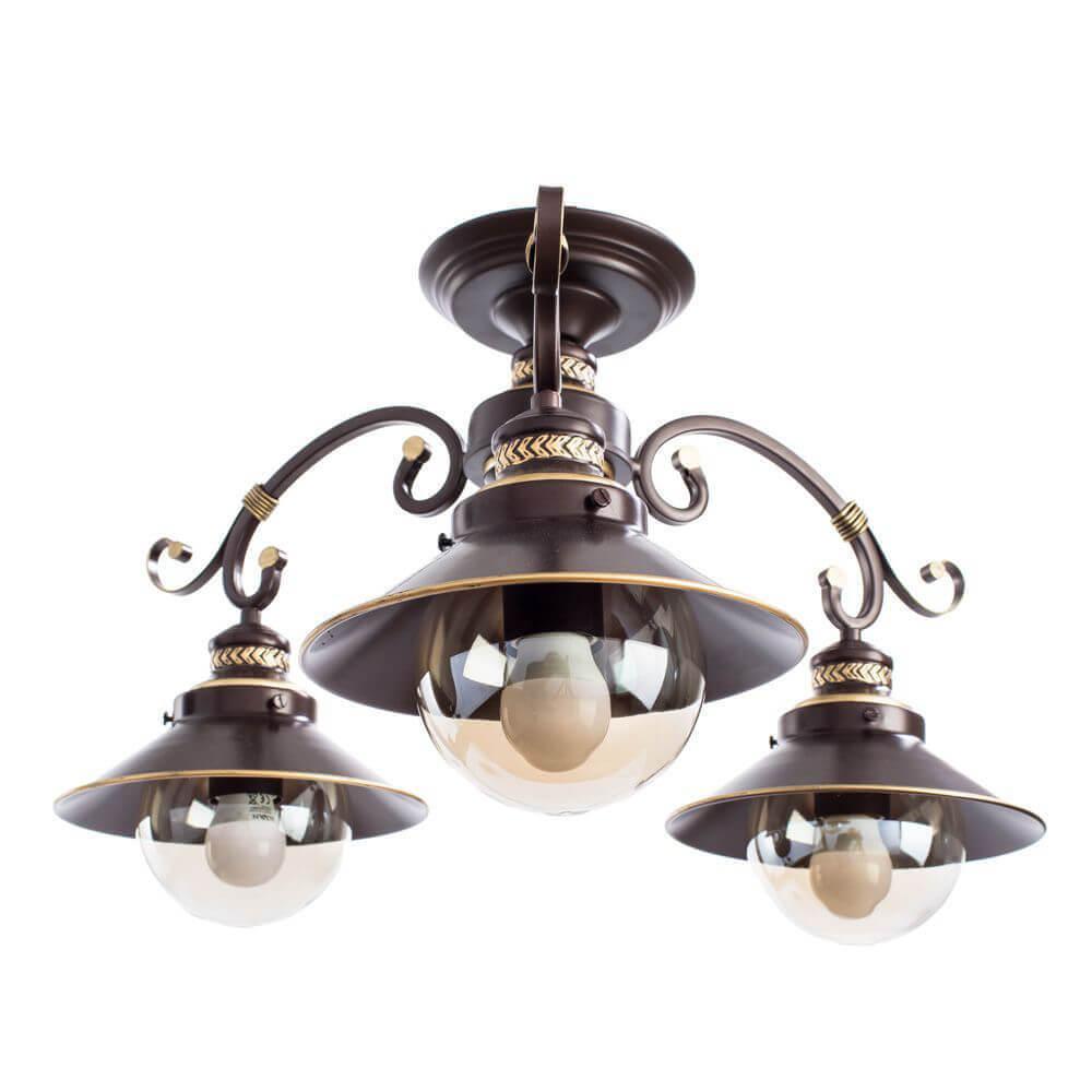 Люстра Arte Lamp A4577PL-3CK 7 Brown