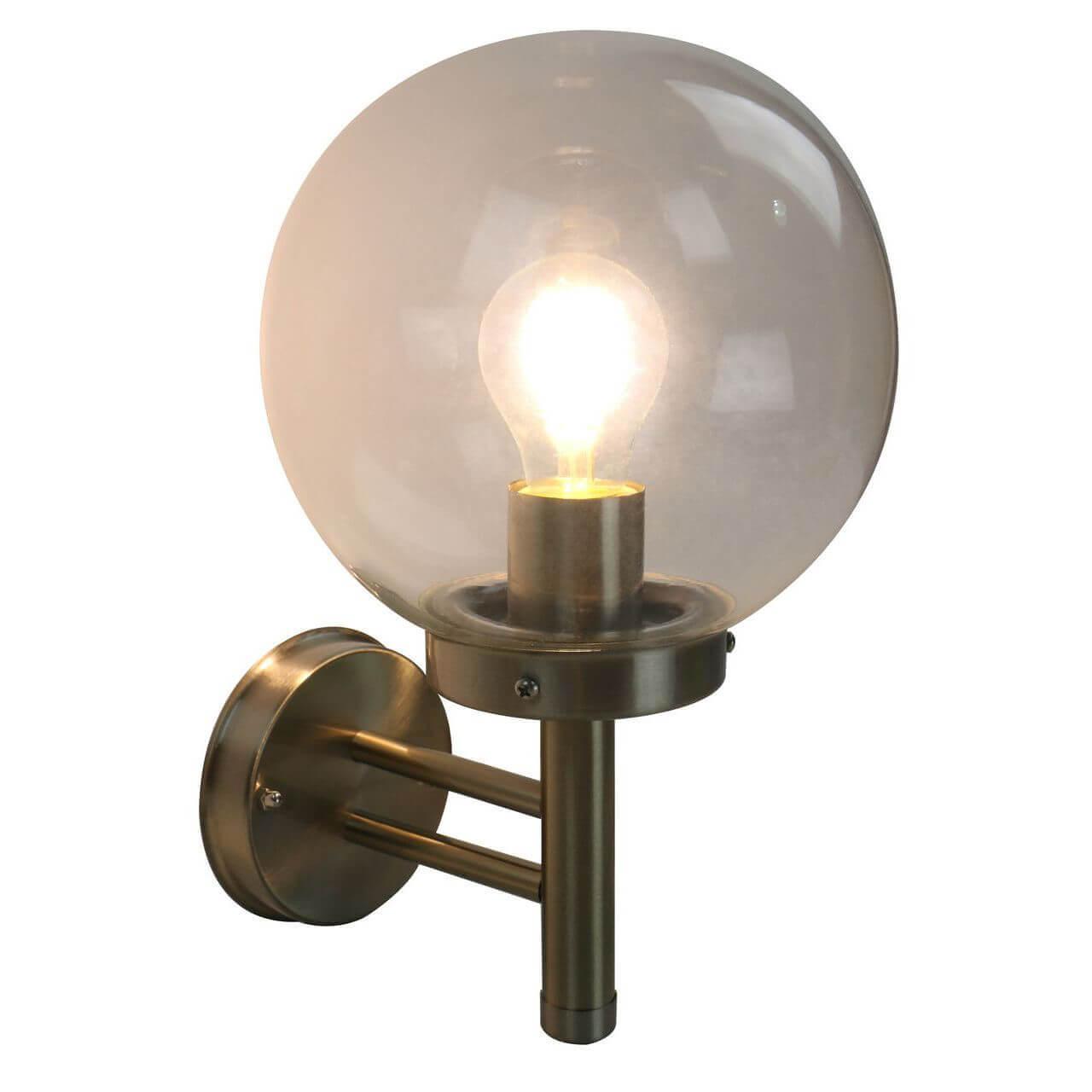 Уличный настенный светильник Arte Lamp Gazebo A8365AL-1SS цена 2017