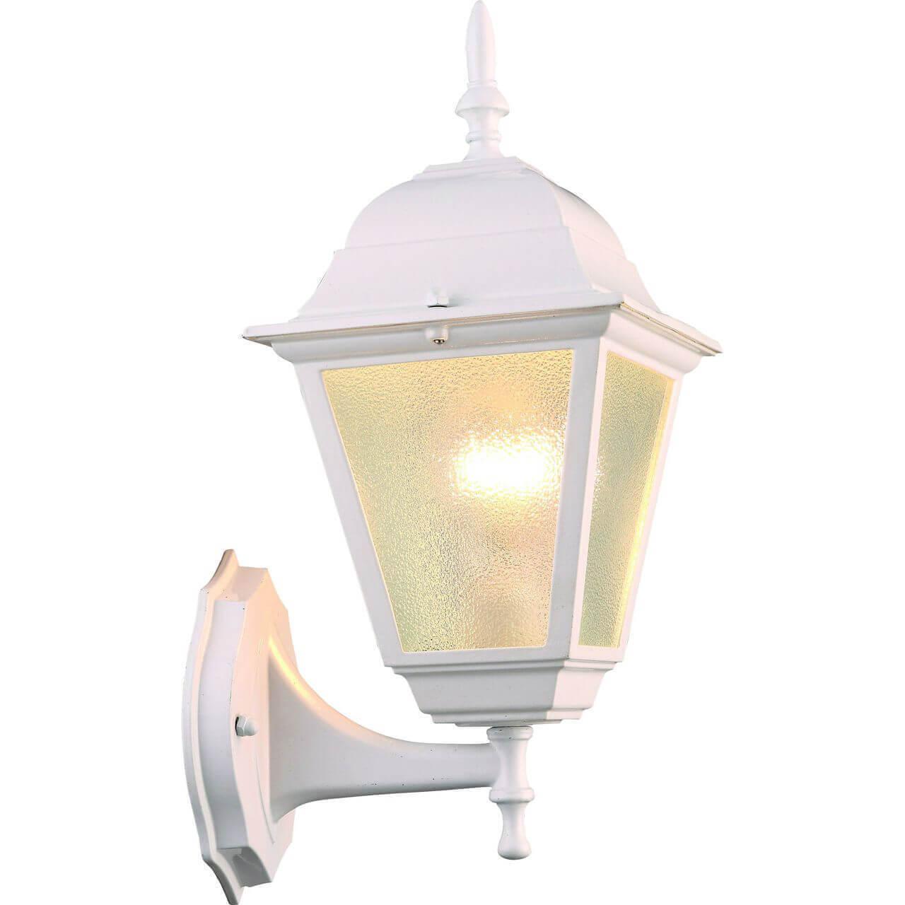 Уличный настенный светильник Arte Lamp Bremen A1011AL-1WH уличный светильник artelamp bremen a1011al 1wh