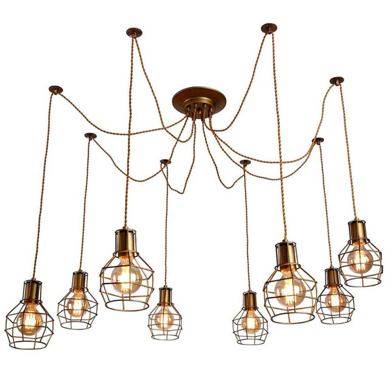 лучшая цена Подвесная люстра Arte Lamp 75 A9182SP-8BZ
