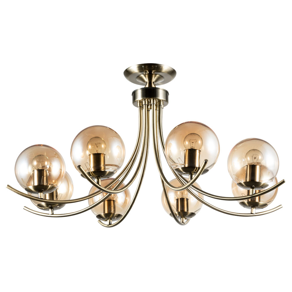 Фото - Люстра Arte Lamp A2715PL-8AB Scarlett люстра arte lamp enigma a3133pl 8ab 320 вт