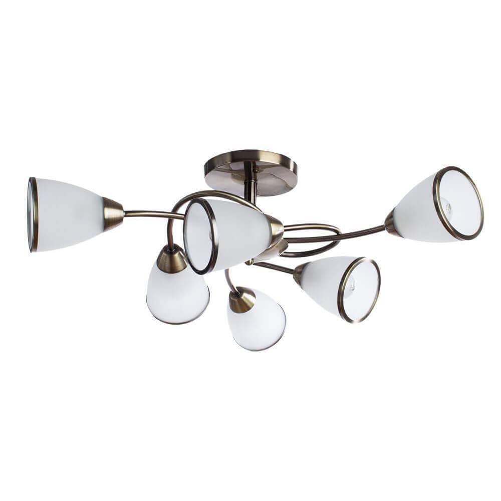Люстра Arte Lamp A6059PL-6AB 3 потолочная люстра id lamp fort wayne 830 8pf whitechrome