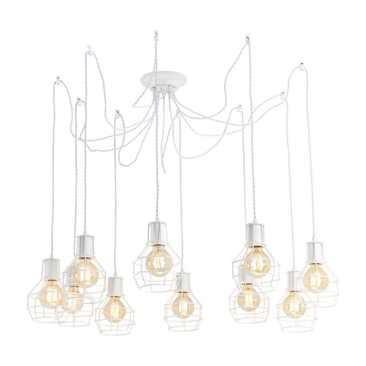лучшая цена Подвесная люстра Arte Lamp A9182SP-10WH