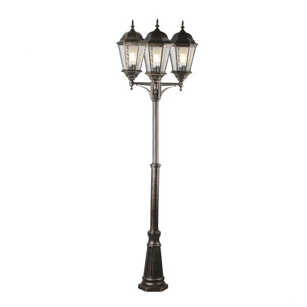 Садово-парковый светильник Arte Lamp Genova A1207PA-3BN садово парковый светильник arte lamp genova a1207pa 1bs
