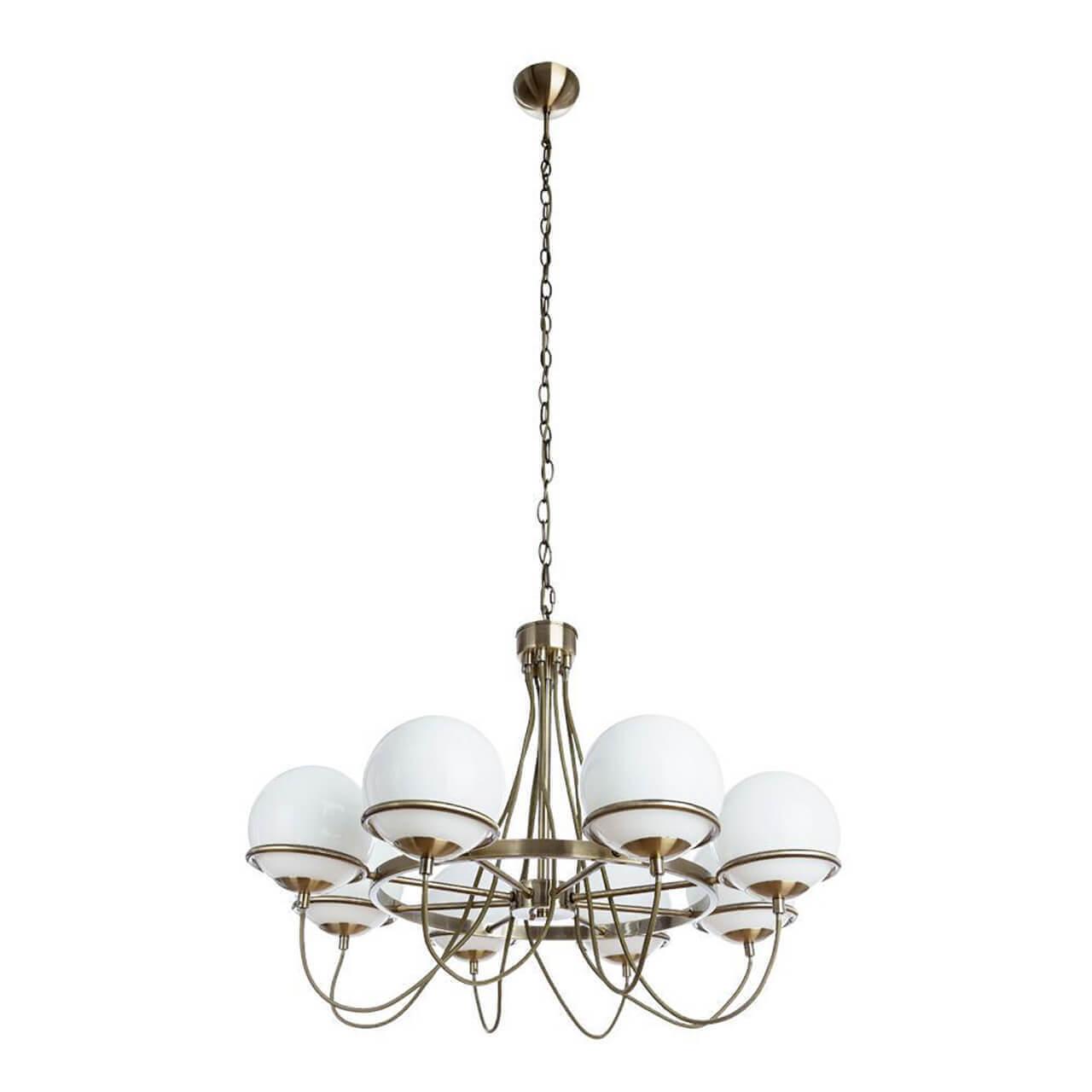 Люстра Arte Lamp A2990LM-8AB Bergamo Bronze