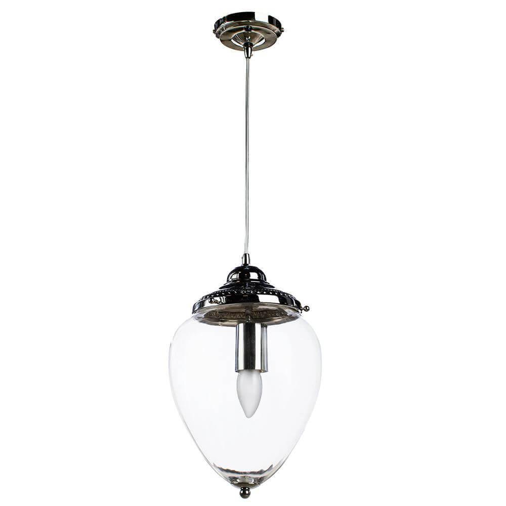 Подвесной светильник Arte Lamp Rimini A1091SP-1CC подвесной светильник коллекция rimini a1091sp 1cc хром прозрачный arte lamp арте ламп