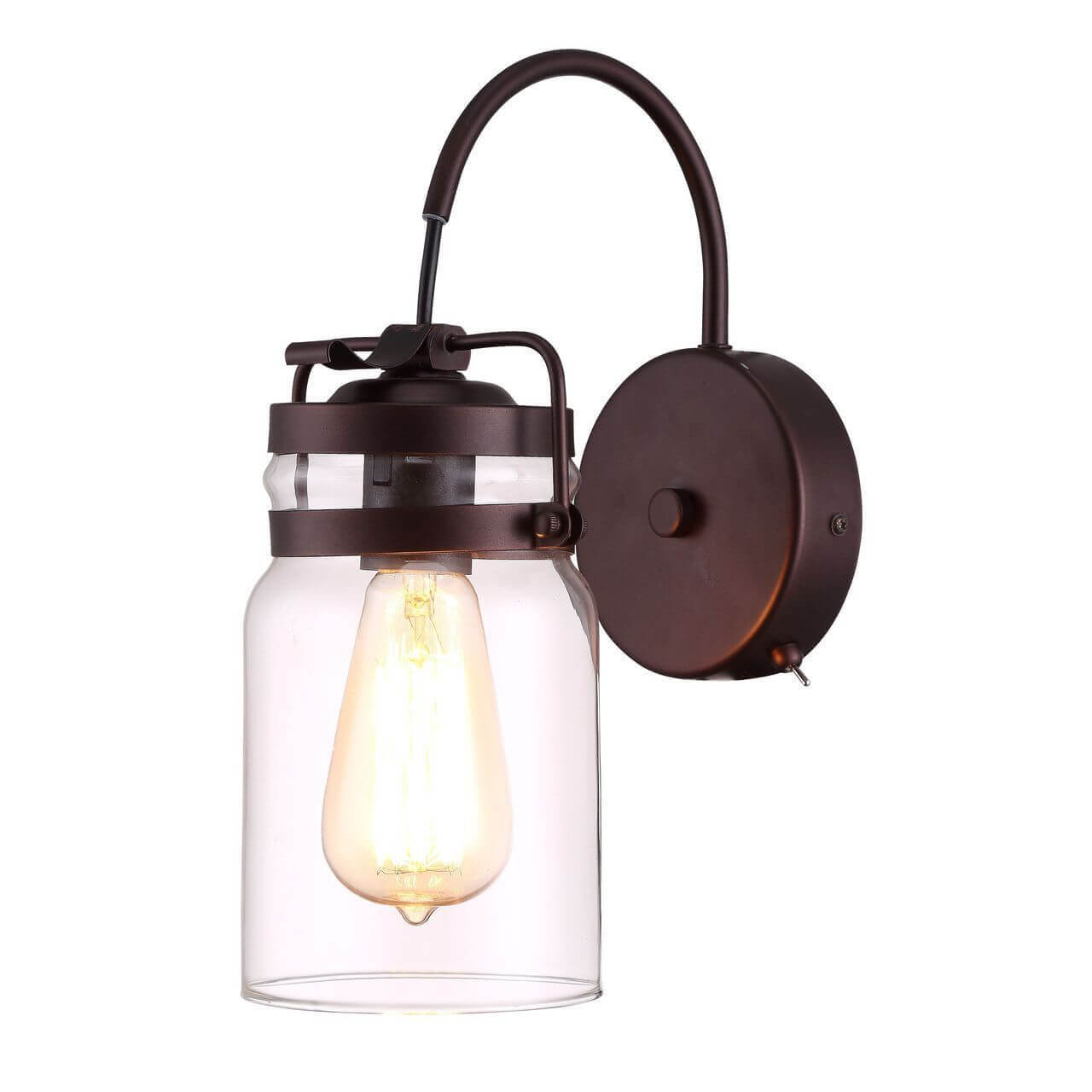 Бра Arte Lamp Bene A9179AP-1CK бра arte lamp bene a9179ap 1ck